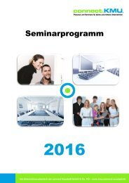 connect.KMU.Neustadt - Seminarprogramm 2016