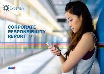 RESPONSIBILITY REPORT 2015