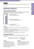 Sony NWZ-B153 - NWZ-B153 Istruzioni per l'uso Finlandese - Page 2