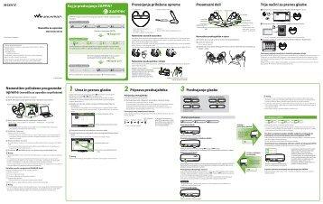Sony NWZ-W253 - NWZ-W253 Istruzioni per l'uso Sloveno