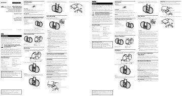 Sony NWZ-E453K - NWZ-E453K Istruzioni per l'uso Norvegese
