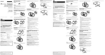 Sony NWZ-E453K - NWZ-E453K Istruzioni per l'uso Polacco