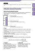 Sony NWZ-B152F - NWZ-B152F Istruzioni per l'uso Ungherese - Page 2