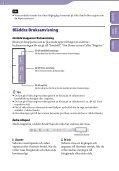 Sony NWZ-B152F - NWZ-B152F Istruzioni per l'uso Svedese - Page 2
