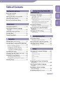 Sony NWZ-B152F - NWZ-B152F Istruzioni per l'uso Inglese - Page 3