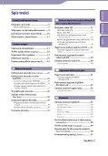 Sony NWZ-B152F - NWZ-B152F Istruzioni per l'uso Polacco - Page 3