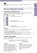 Sony NWZ-B152F - NWZ-B152F Istruzioni per l'uso Portoghese - Page 2