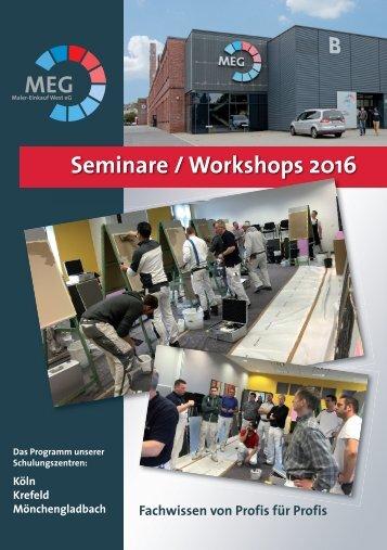 Seminarprogramm MEG West III
