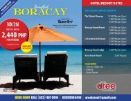 Boracay Tour Package