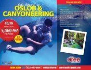 Oslob- Canyoneering Tour Package