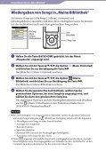 Sony NWZ-E463K - NWZ-E463K Istruzioni per l'uso Tedesco - Page 7