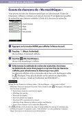 Sony NWZ-A864 - NWZ-A864 Istruzioni per l'uso Francese - Page 7