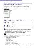 Sony NWZ-A864 - NWZ-A864 Istruzioni per l'uso Inglese - Page 7