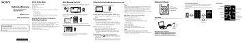 Sony NWZ-E354 - NWZ-E354 Guida di configurazione rapid Turco