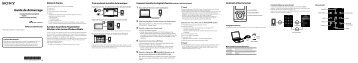 Sony NWZ-E354 - NWZ-E354 Guida di configurazione rapid Francese