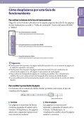 Sony NWZ-B142 - NWZ-B142 Istruzioni per l'uso Spagnolo - Page 2