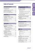 Sony NWZ-B142 - NWZ-B142 Istruzioni per l'uso Inglese - Page 3
