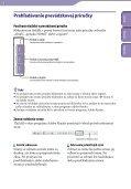 Sony NWZ-B142 - NWZ-B142 Istruzioni per l'uso Slovacco - Page 2