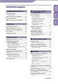 Sony NWZ-B142 - NWZ-B142 Istruzioni per l'uso Danese - Page 3