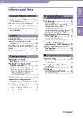 Sony NWZ-B142 - NWZ-B142 Istruzioni per l'uso Tedesco - Page 3