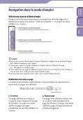 Sony NWZ-B142 - NWZ-B142 Istruzioni per l'uso Francese - Page 2