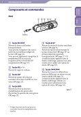 Sony NWZ-B142 - NWZ-B142 Istruzioni per l'uso Francese - Page 5