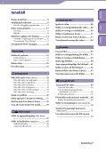 Sony NWZ-E435F - NWZ-E435F Istruzioni per l'uso Svedese - Page 4