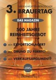 Magazin Brauertag BWB