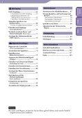 Sony NWZ-E435F - NWZ-E435F Istruzioni per l'uso Tedesco - Page 5