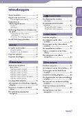 Sony NWZ-E435F - NWZ-E435F Istruzioni per l'uso Olandese - Page 4