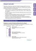 Sony NWZ-A816 - NWZ-A816 Istruzioni per l'uso Rumeno - Page 2