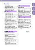 Sony NWZ-A816 - NWZ-A816 Istruzioni per l'uso Rumeno - Page 4