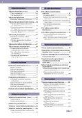 Sony NWZ-A844 - NWZ-A844 Istruzioni per l'uso Finlandese - Page 4