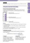 Sony NWZ-A844 - NWZ-A844 Istruzioni per l'uso Ungherese - Page 2