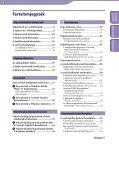 Sony NWZ-A844 - NWZ-A844 Istruzioni per l'uso Ungherese - Page 3