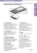 Sony NWZ-A844 - NWZ-A844 Istruzioni per l'uso Ungherese - Page 6
