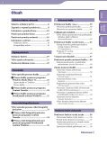 Sony NWZ-A844 - NWZ-A844 Istruzioni per l'uso Slovacco - Page 3