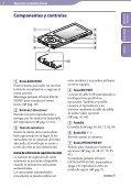 Sony NWZ-A844 - NWZ-A844 Istruzioni per l'uso Spagnolo - Page 6