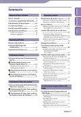 Sony NWZ-A844 - NWZ-A844 Istruzioni per l'uso Italiano - Page 3