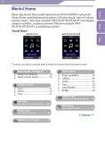 Sony NWZ-S616F - NWZ-S616F Istruzioni per l'uso Rumeno - Page 6