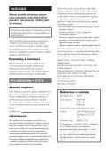 Sony NW-E103 - NW-E103 Istruzioni per l'uso Ceco - Page 4