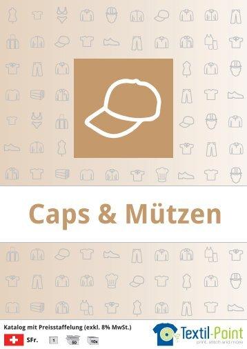 Caps und Mützen - Katalog (Textil-Point GmbH)