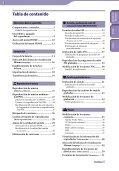 Sony NWZ-B143F - NWZ-B143F Istruzioni per l'uso Spagnolo - Page 3