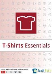 T-Shirts Essentials - Katalog (Textil-Point GmbH)