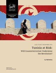 Tunisia at Risk