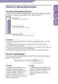 Sony NWZ-B143F - NWZ-B143F Istruzioni per l'uso Portoghese - Page 2