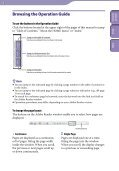 Sony NWZ-B143F - NWZ-B143F Istruzioni per l'uso Inglese - Page 2