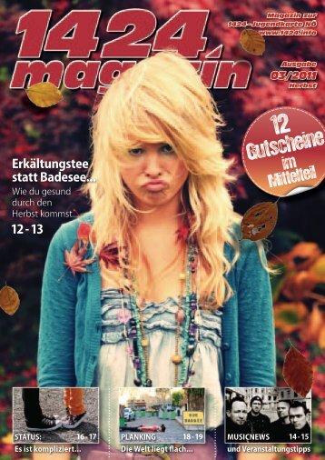 Magazin 3/11 - Deine NÖ Jugendkarte 1424