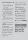 Sony NW-E305 - NW-E305 Istruzioni per l'uso Slovacco - Page 4