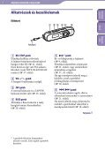 Sony NWZ-B143 - NWZ-B143 Istruzioni per l'uso Ungherese - Page 5